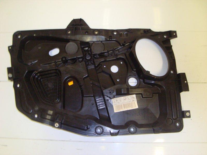 Щит стеклоподъемника Ford Fusion DIESEL 2006 передний левый (б/у)