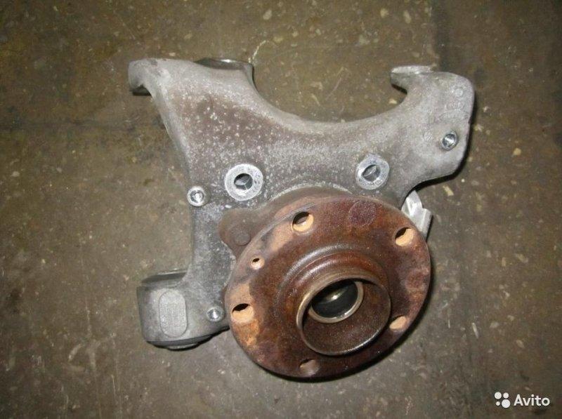 Кулак поворотный со ступицей Audi A6 C6 4F 3.2 BKH 2007 задний правый (б/у)