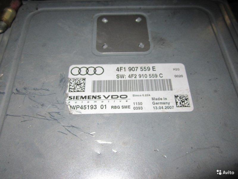 Блок управления двигателем Audi A6 C6 4F 3.2 BKH 2007 (б/у)