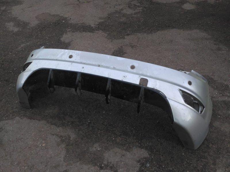 Бампер задний Ford Focus 2 ХЕТЧБЭК 2008 задний (б/у)
