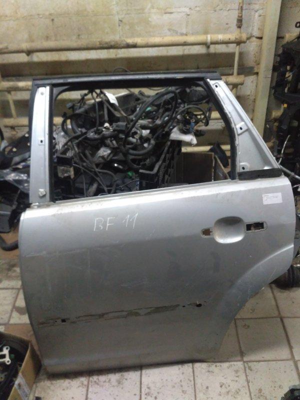 Дверь Ford Focus 2 2007 задняя левая (б/у)