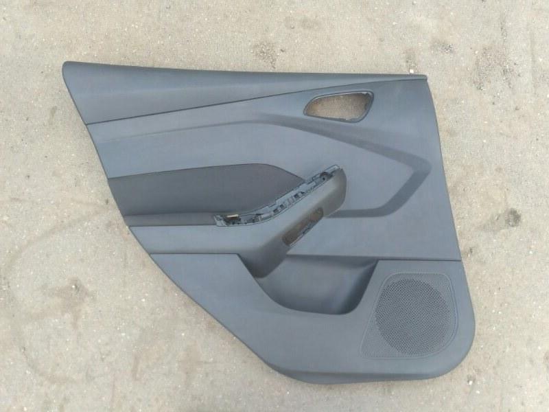 Обшивка двери Ford Focus 3 задняя левая (б/у)
