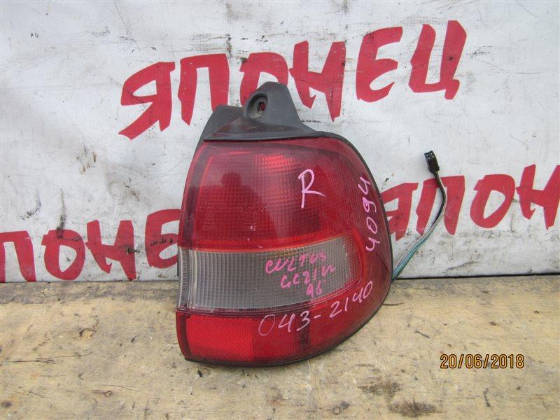 Стоп-сигнал Suzuki Cultus GC21W задний правый (б/у)