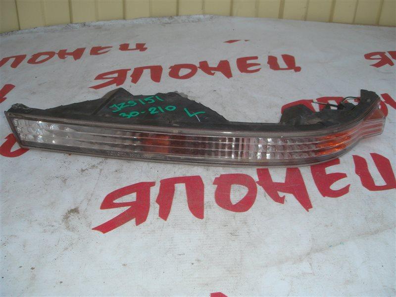Повторитель бамперный Toyota Crown JZS151 передний левый (б/у)