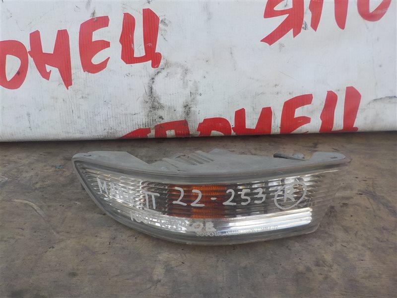 Повторитель бамперный Toyota Mark Ii GX100 1G-FE передний правый (б/у)