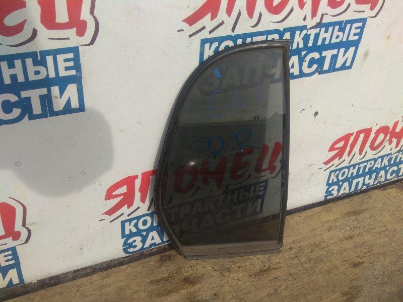 Форточка двери Honda Logo GA3 D13B задняя правая (б/у)