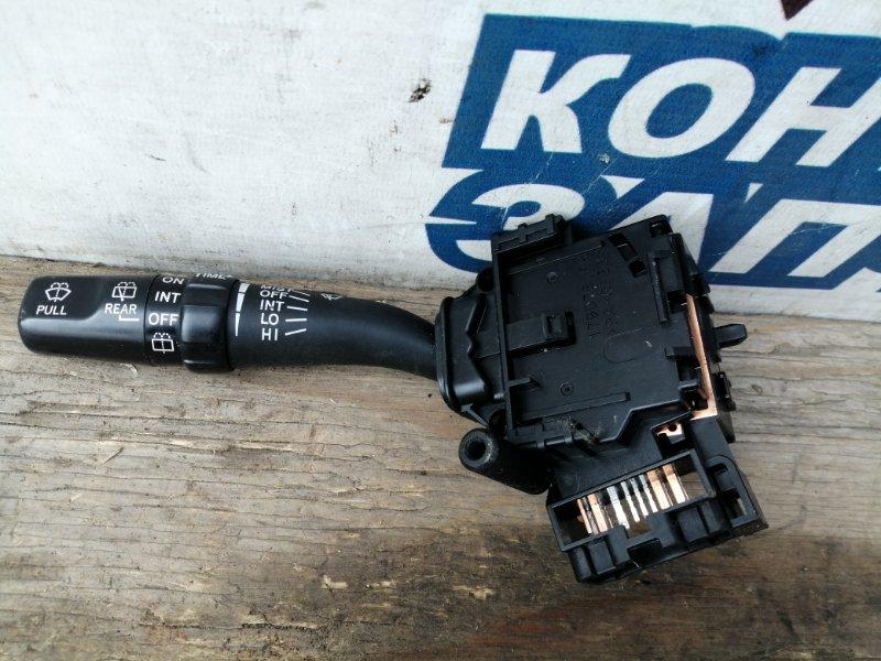 Переключатель стеклоочистителей Toyota Kluger V ACU25 2AZ-FE левый (б/у)