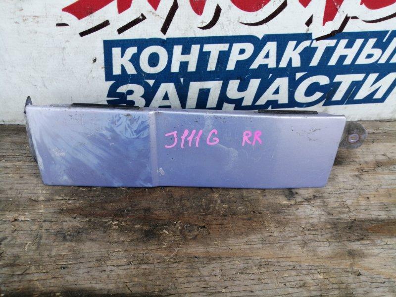 Планка под стоп Daihatsu Terios Kid J111G EF-DEM задняя правая (б/у)