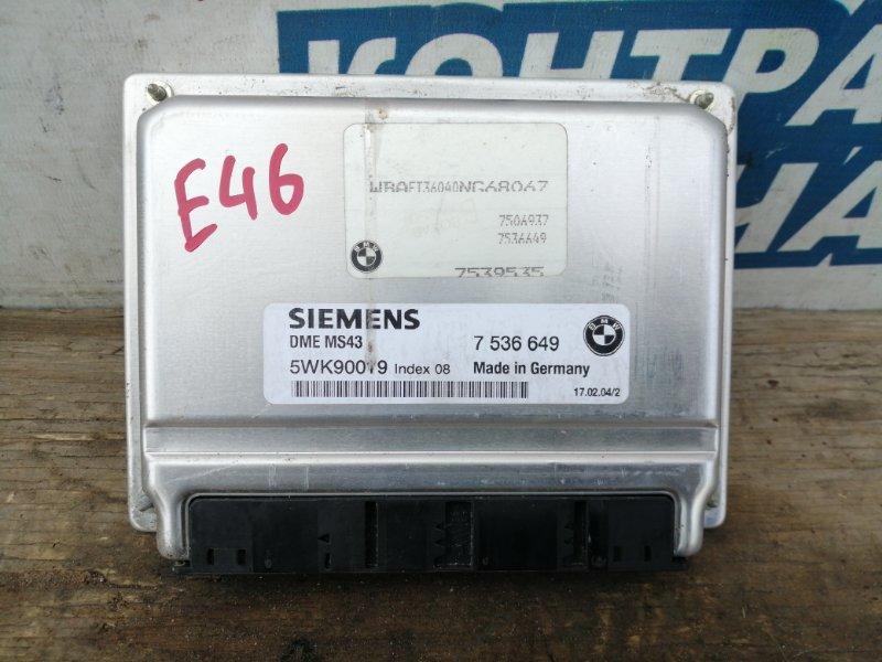 Блок управления efi Bmw 3 Series E46 M54B25 256S5 (б/у)