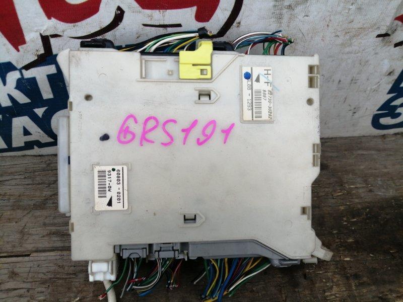 Блок предохранителей салона Lexus Gs350 GRS191 2GR-FSE (б/у)