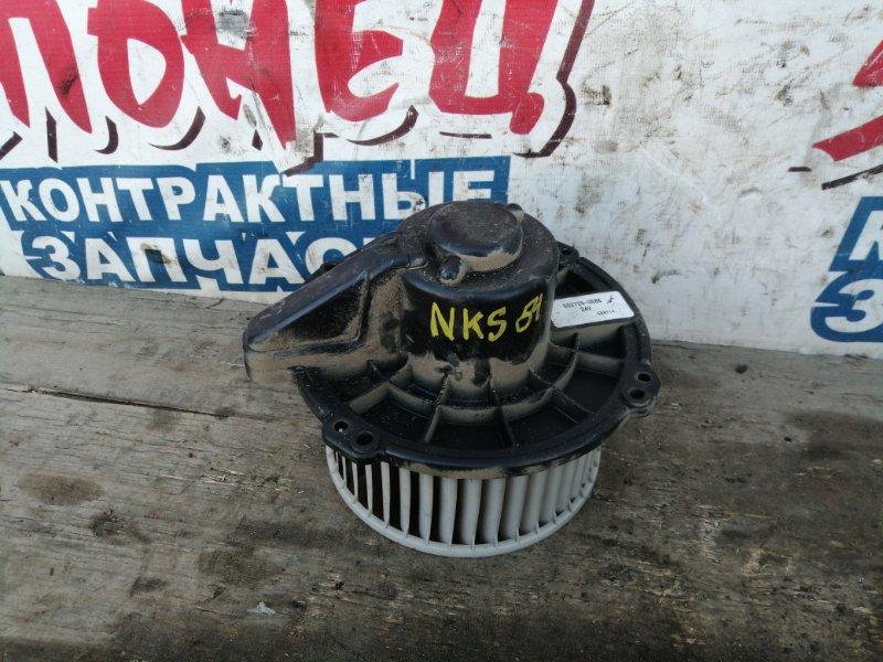 Мотор печки Isuzu Elf NKS81 4HL1 (б/у)