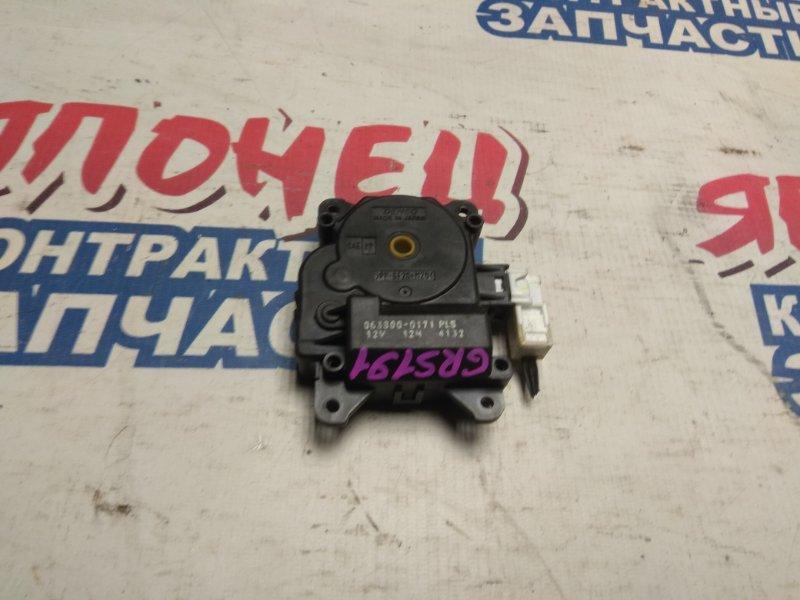 Сервопривод заслонок печки Lexus Gs350 GRS191 2GR-FSE (б/у)
