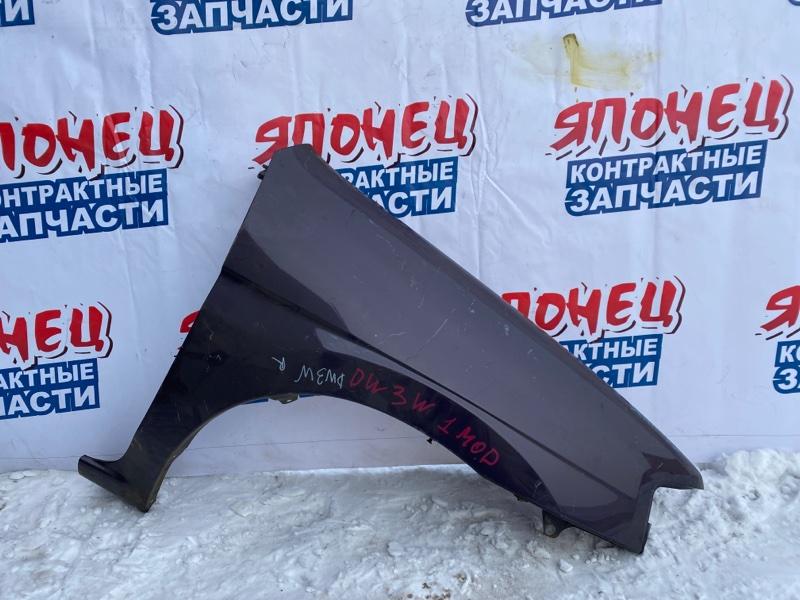Крыло Mazda Demio DW3W переднее правое (б/у)