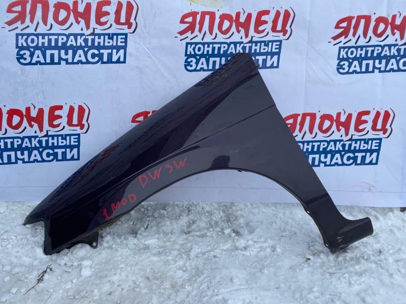 Крыло Mazda Demio DW3W переднее левое (б/у)