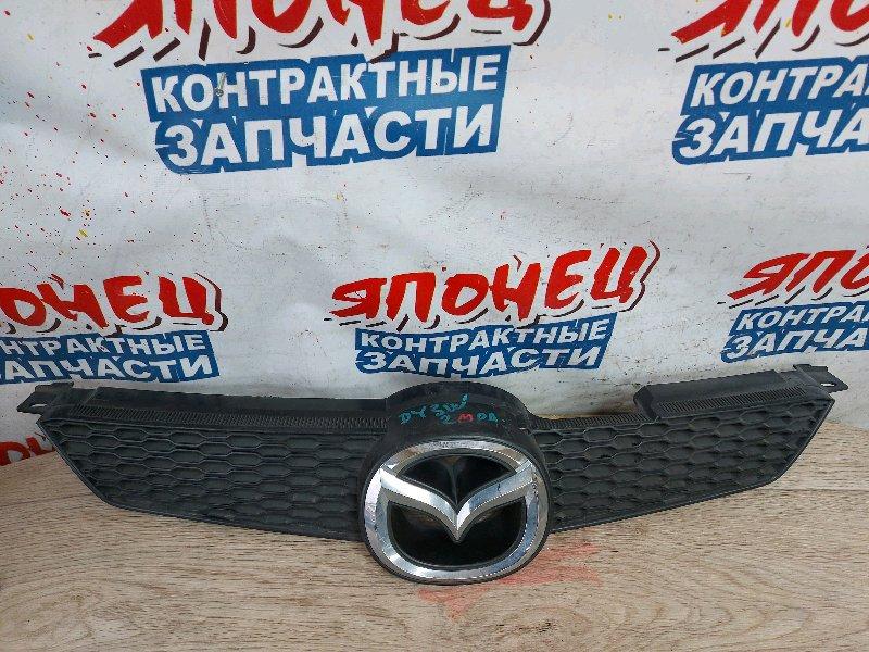 Решетка радиатора Mazda Demio DY3W ZJ (б/у)