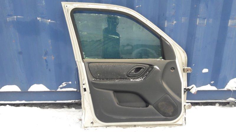 Обшивка двери Mazda Tribute EPEW передняя левая (б/у)