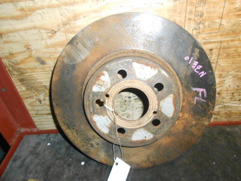 тормозной диск Toyota Wish/Caldina/ED ZNE10/ST200/ST215/ANE11 F б/у 5*100 (275*28)  GTT
