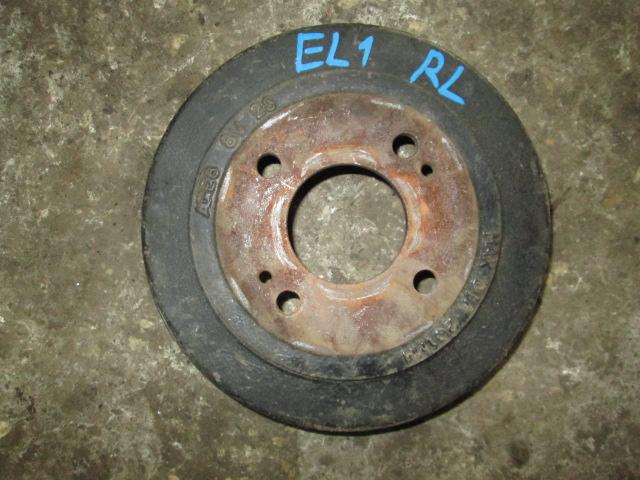 тормозной барабан Honda Orthia EL1/EL2 б/у правый=левый