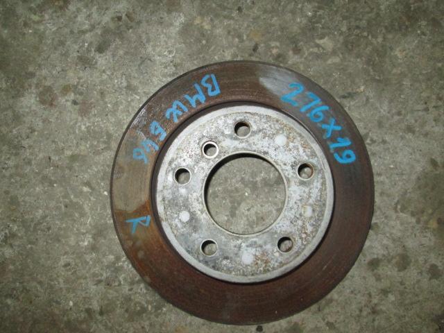 тормозной диск задний BMW E36/E46 б/у 276*19