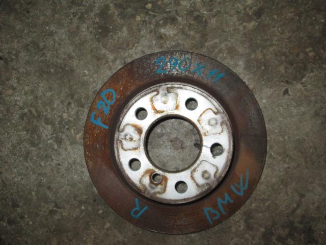 тормозной диск задний BMW F20  б/у 290*11