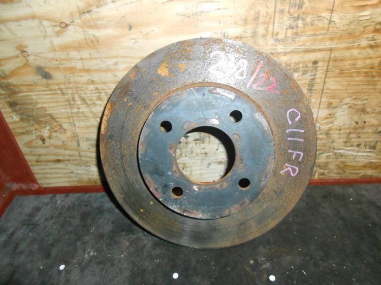 тормозной диск Nissan C11/E11/K12/Z11 F б/у 4*100 (235*22)