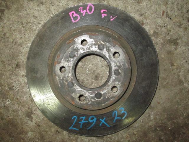 тормозной диск Nissan Lafesta B30 F б/у (280*22)