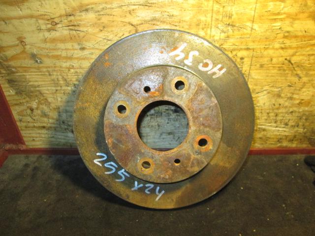 тормозной диск Nissan Laurel HC34 F б/у (255*24)