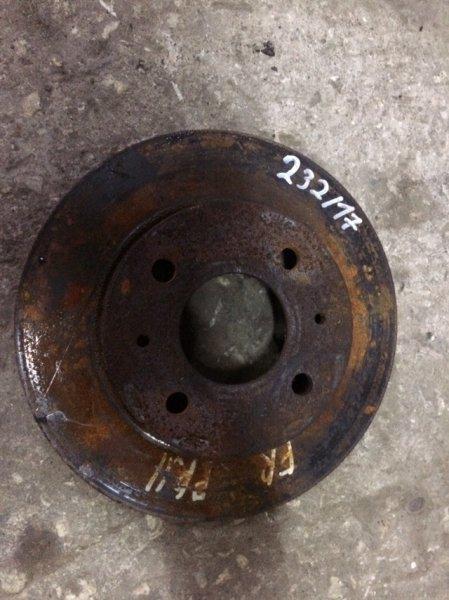 тормозной диск Nissan N15/B14/R11 передний б/у (232*18)