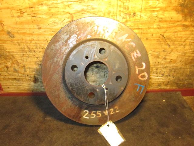 тормозной диск Toyota NCP/NCZ передний б/у 4*100 (255*22)