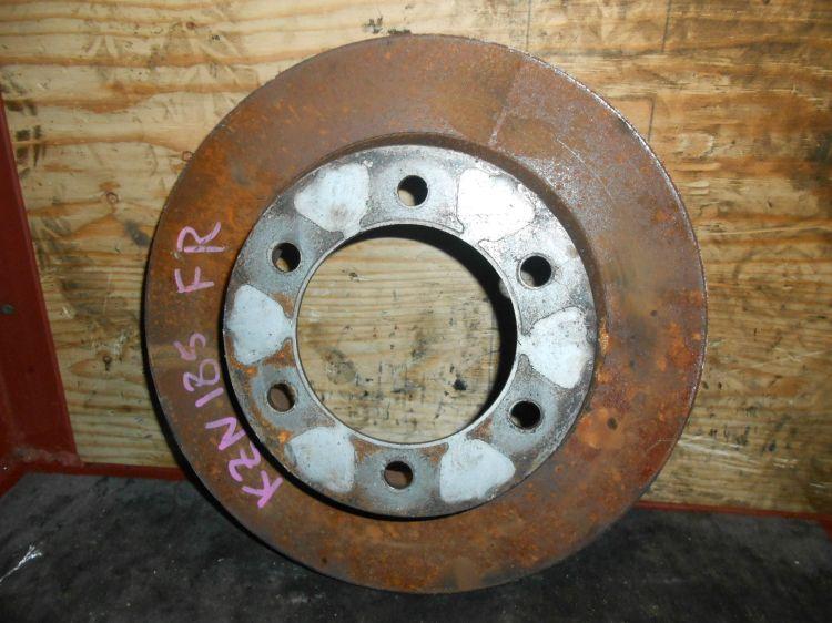тормозной диск Toyota Surf KZN185 F б/у (320*22)