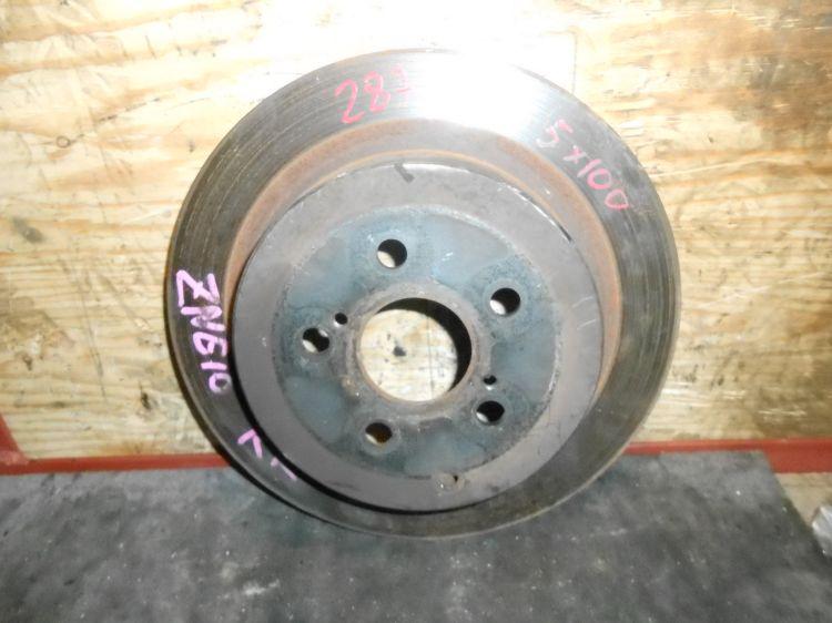 тормозной диск задний Toyota Wish ANE11 б/у (290*10)