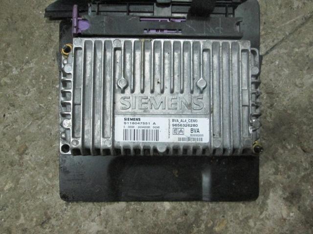 блок управления АКПП Peugeot 206 VF32 NFU  б/у
