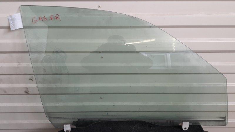 Стекло двери Honda Logo GA3 переднее правое (б/у)
