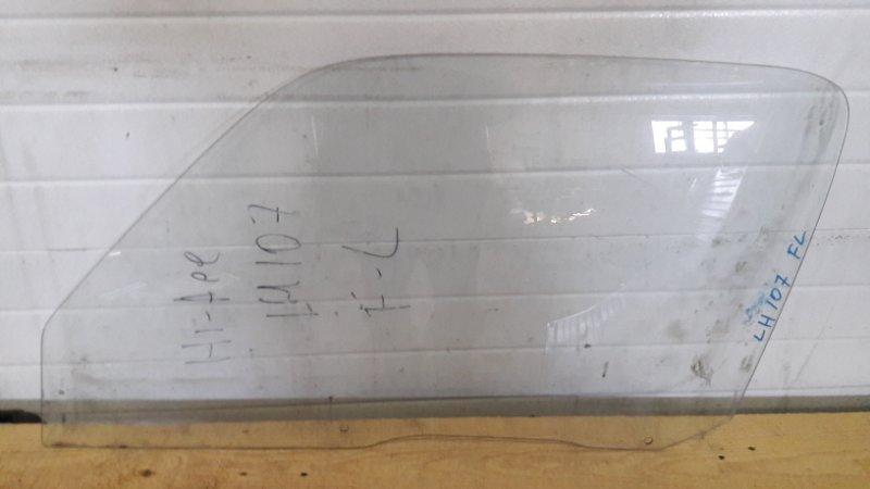 стекло опускное Toyota HIACE LH100 89- переднее левое б/у