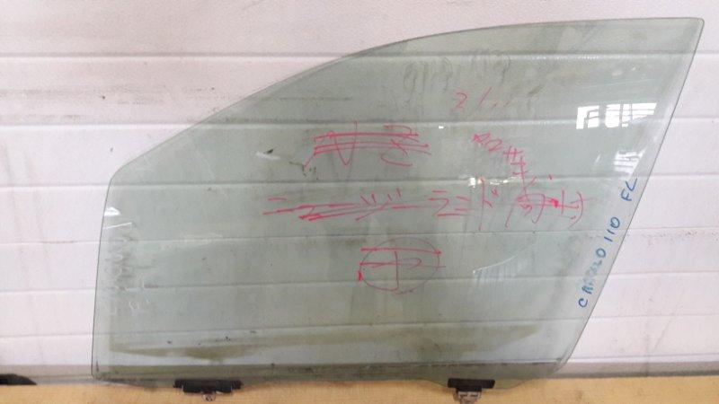 стекло опускное Toyota Corolla SPACIO #E110 переднее левое б/у