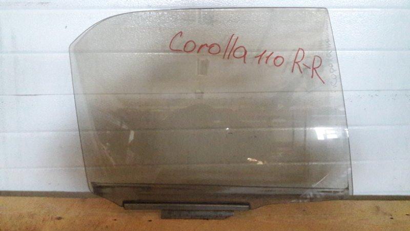 Стекло двери Toyota Corolla AE110 заднее правое (б/у)