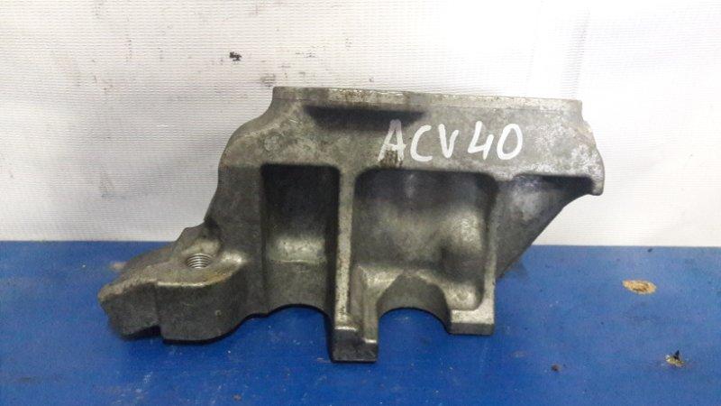 Крепление подушки двс Toyota Camry ACV40 2AZ 2007 правое (б/у)