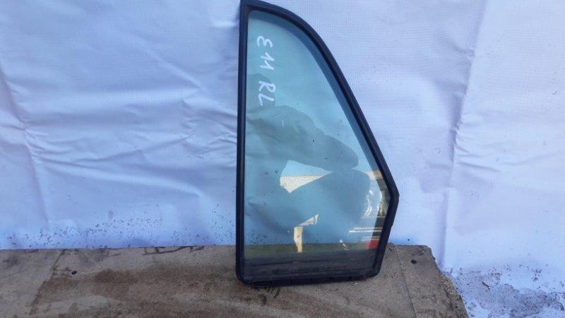 Форточка двери Nissan Tiida C11 задняя левая (б/у)