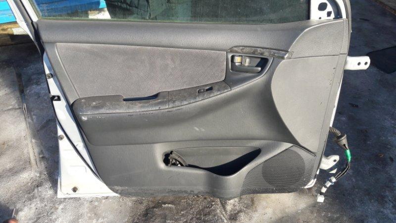 Обшивка двери Toyota Allex NZE120 передняя левая (б/у)