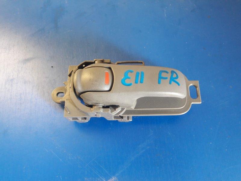 Ручка двери Nissan Note E11 передняя правая (б/у)