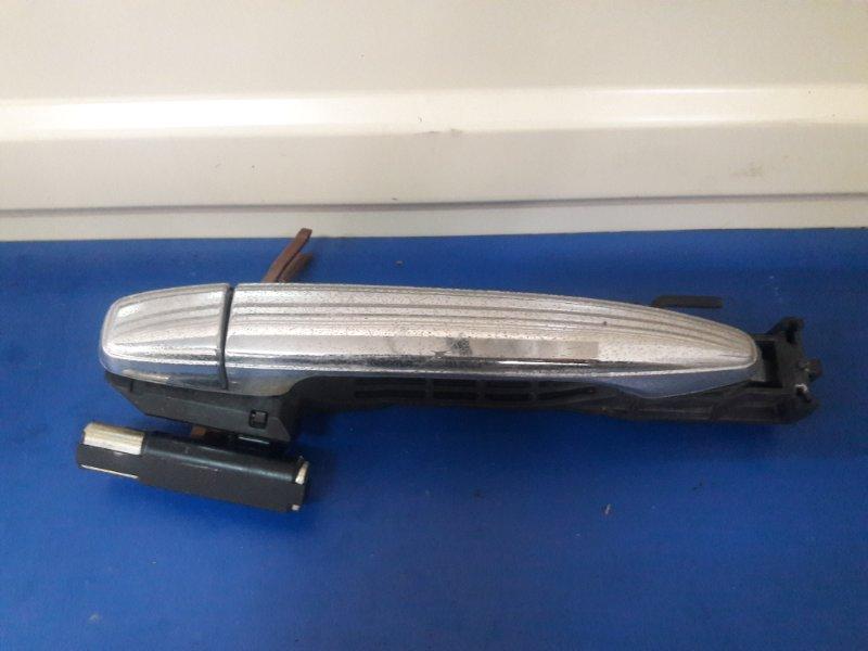 Ручка двери Toyota Harrier ACU30 задняя левая (б/у)