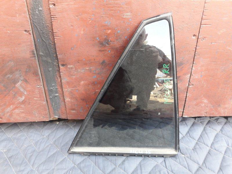 Форточка двери Toyota Lexus ACU35 задняя правая (б/у)