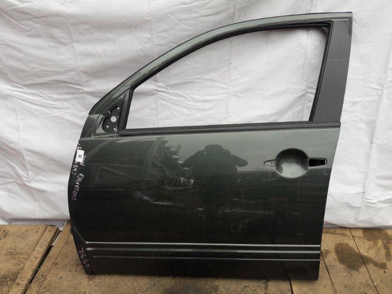 Дверь Mitsubishi Outlander CW5W передняя левая (б/у)