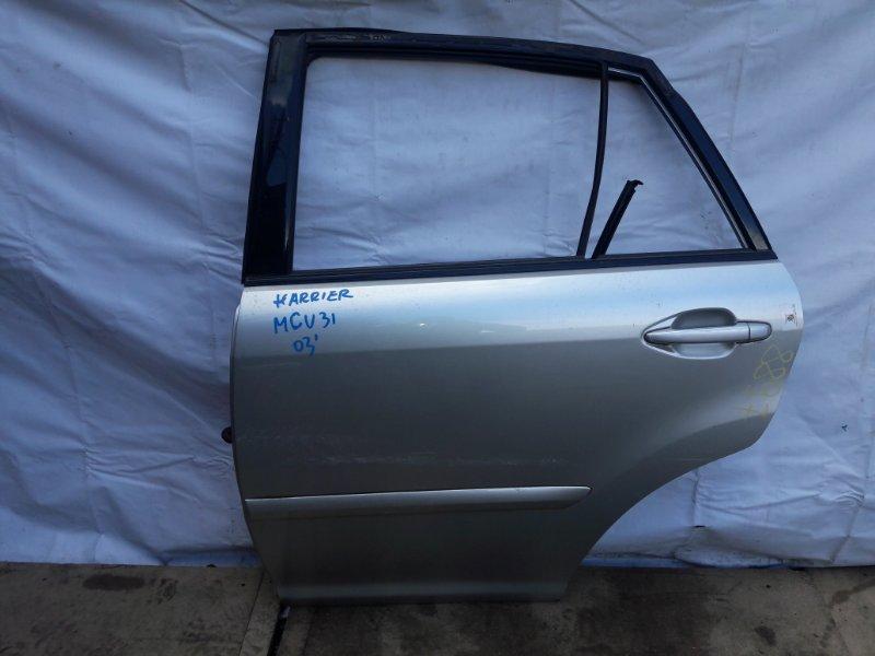 Дверь Toyota Lexus MCU35. MCU36 2003 задняя левая (б/у)