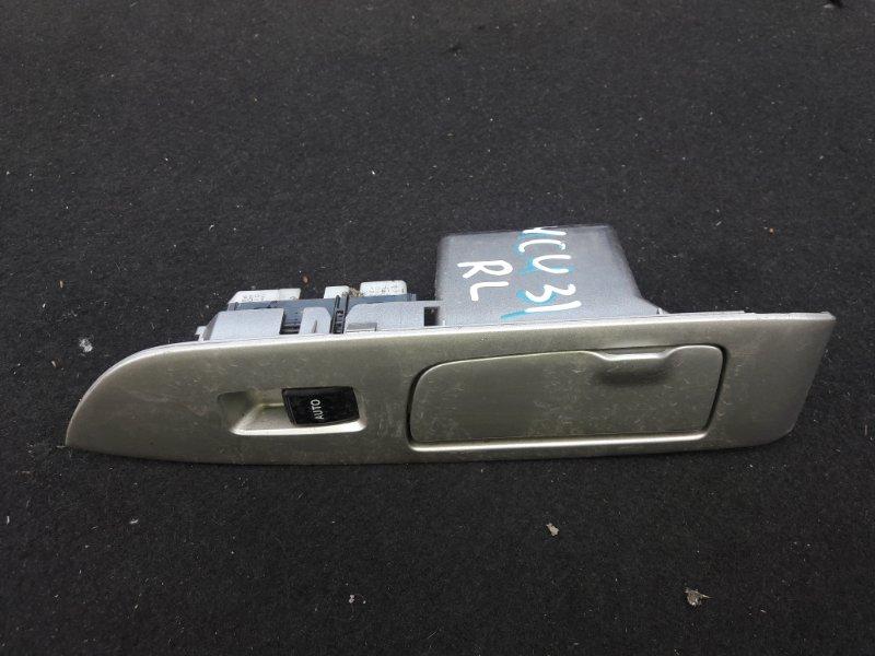 Кнопка стеклоподъемника Toyota Lexus MCU35. MCU36 2003 задняя левая (б/у)