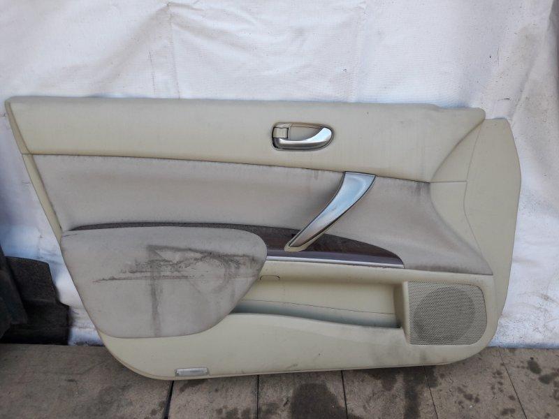 Обшивка двери Nissan Teana J32 передняя левая (б/у)