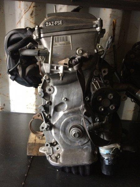 двигатель Toyota 2AZFSE 2598079 б/у  (0025185)