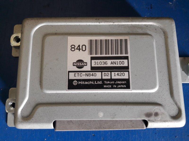 Блок управления акпп Nissan March K11 CG10DE (б/у)