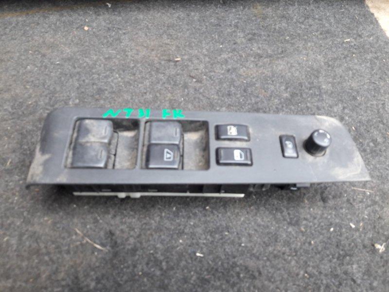 Блок управления стеклами Nissan X-Trail NT31 передний правый (б/у)