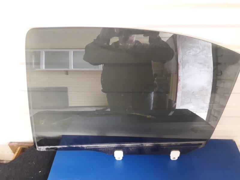 Стекло двери Mitsubishi Lancer X CY2A заднее левое (б/у)